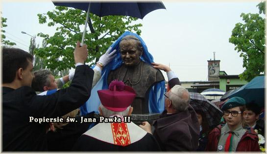 Popiersie św. Jana Pawła II - slajd