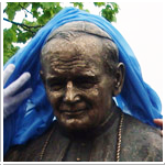 20141229 Odsłonięcie popiersia św. Jana Pawła II wpis